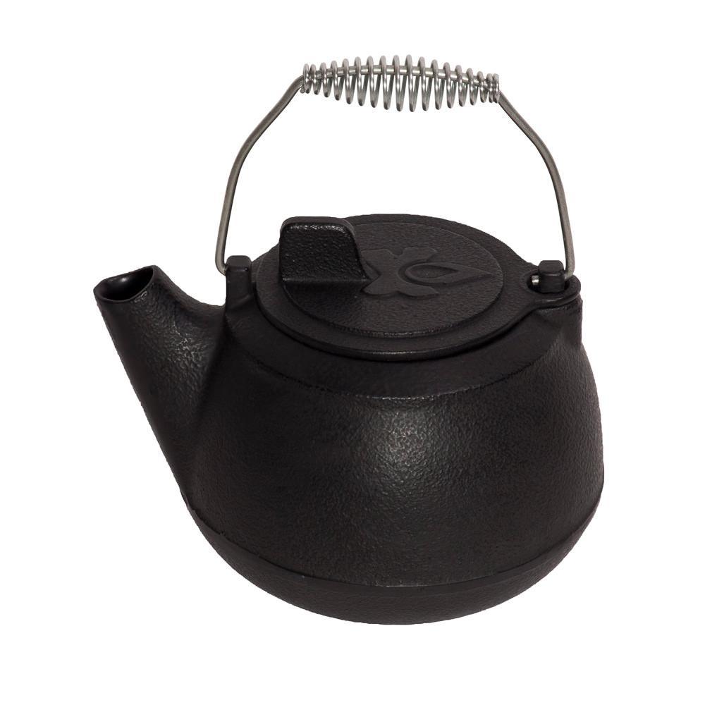 Cast iron tea pot camp chef citp kitchen tools