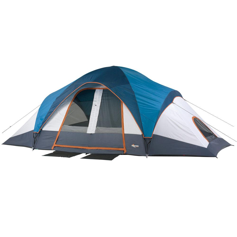 Mountain Trails Grand Pass 10 Person Family Dome Tent ...  sc 1 st  C&ing World & Mountain Trails Grand Pass 10 Person Family Dome Tent - American ...