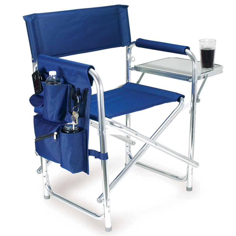 Sports Chair Navy Picnic Time 809 00 138 Folding Chairs Camping World