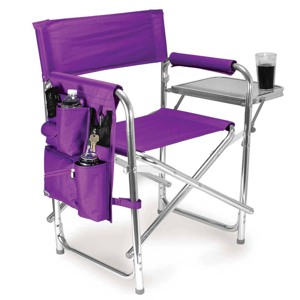 Sports Chair Purple Picnic Time 809 00 101 Folding Chairs Camping World