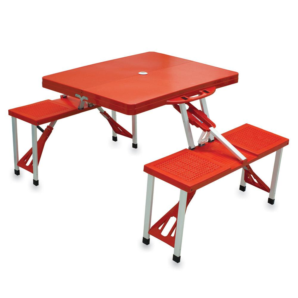 Picnic Table Red Picnic Time Picnic Supplies - Picnic table supplies