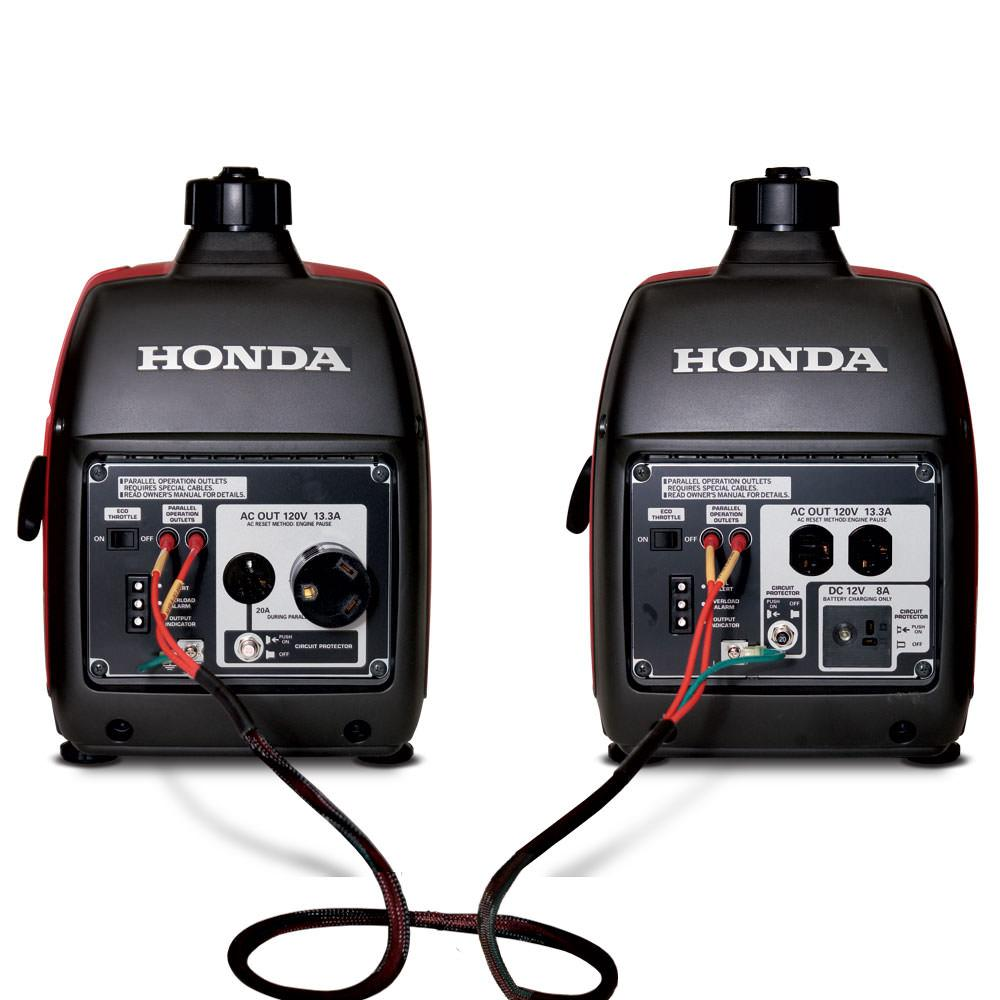 parallel cables and 30 amp rv adapter kit   honda