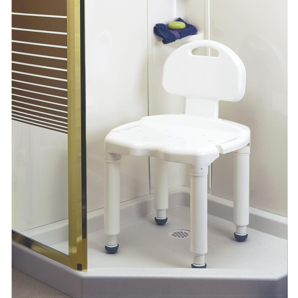 Universal Bath Bench With Back Carex Health Brands B671c0 Bathroom Accessories Camping World