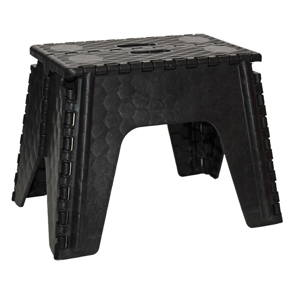 E-Z Foldz Folding Step Stool 12 - Black ...  sc 1 st  C&ing World & E-Z Foldz Folding Step Stool 12