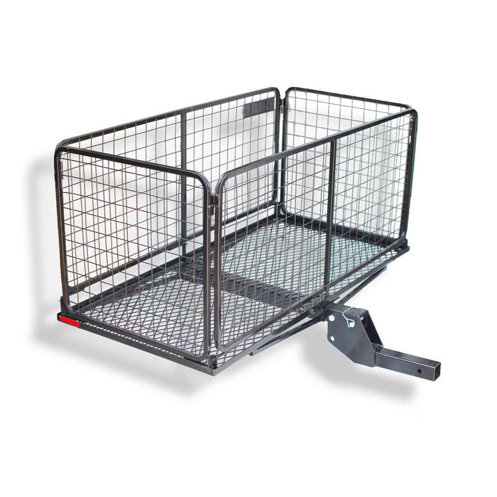 Cargo Carrier Basket with 4 inch Raised Folding Shank ...