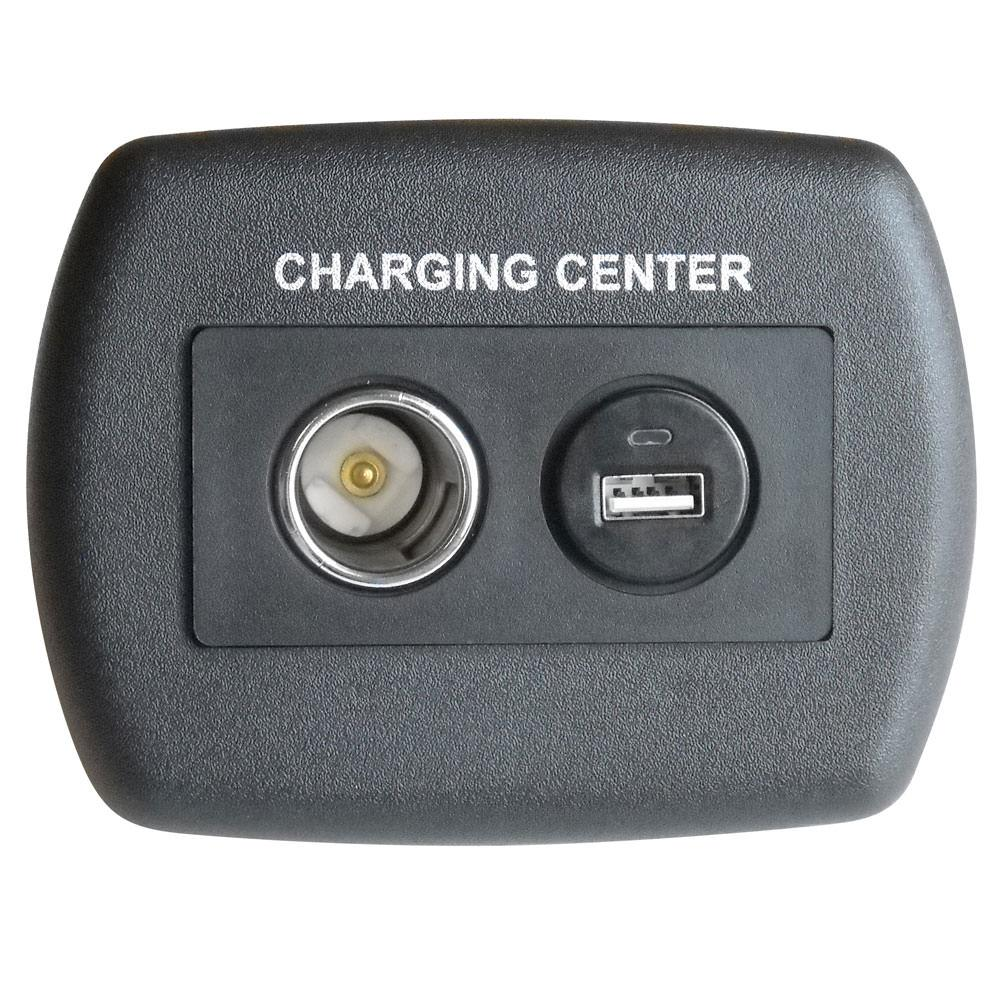 Rv Power Converters Chargers Camping World 1986 Chevrolet Dual Tank Wiring Usb 12 Volt Plastic Charger Black