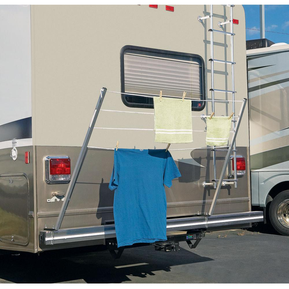 Rv Shower Clothes Drying Rack Cosmecol