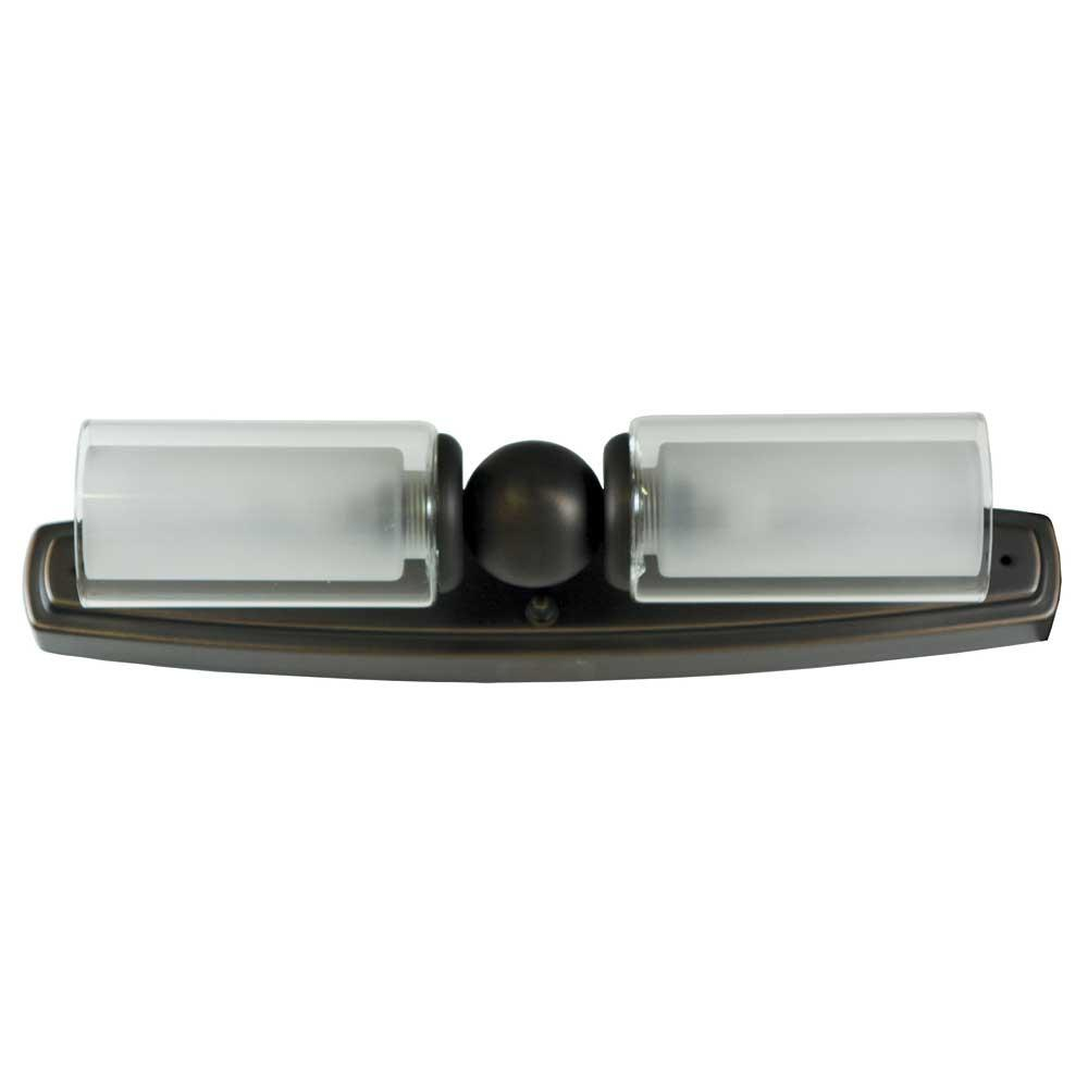 Mirage Dual Candle Vanity Light - Oil Rubbed Bronze Finish - ITC 3443F-SA54G1000-DB - Light ...