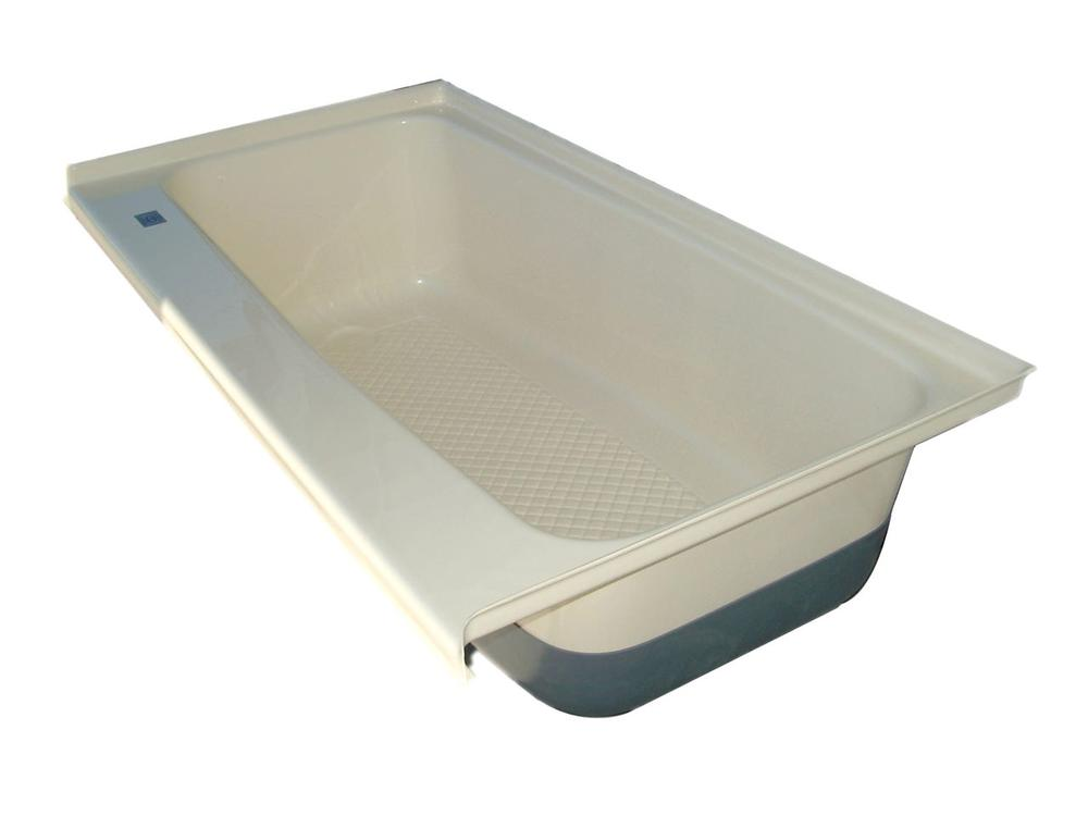 RV Bath Tub Left Hand Drain TU600LH - Polar White - Icon ...