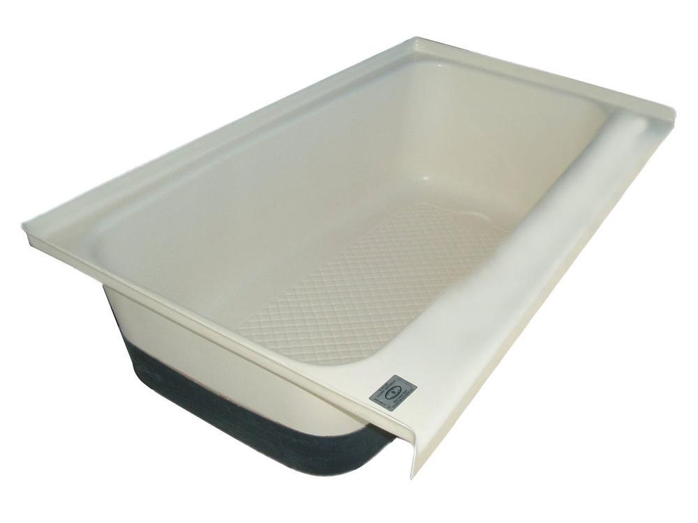 rv bath tub right hand drain tu700rh polar white icon
