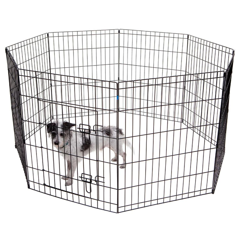 Portable pet fence for traveling with your dog