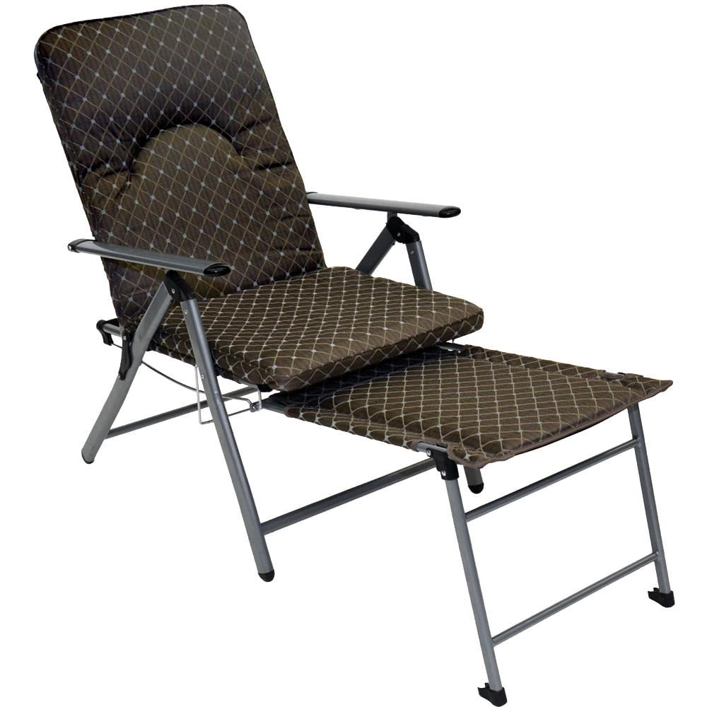 Recliner camp chairs
