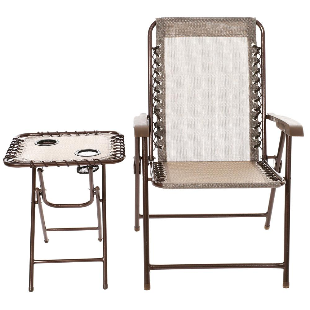... Set · Amberwood Mesh Chair \u0026 Table ...  sc 1 st  C&ing World : folding chair table set - pezcame.com