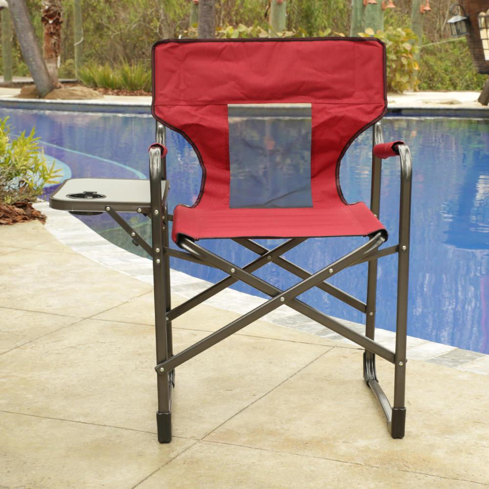 Mesh Back Chair With Table ...