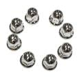 Lug Nut Covers Stainless Steel Ford 1-1/16, 8pk