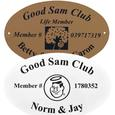 Personalized Good Sam Member Plaques