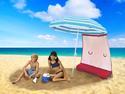 ezShade Umbrella Sun Shield - Red