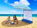 ezShade Umbrella Sun Shield - Blue