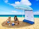 ezShade Umbrella Sun Shield - Blue