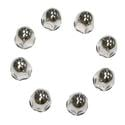 Lug Nut Covers Stainless Steel GM/Chevy 1