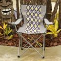 Grey Diamond Bag Chair