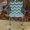 Royal Blue Chevron Bag Chair