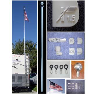 1.5 Flagpole Kit