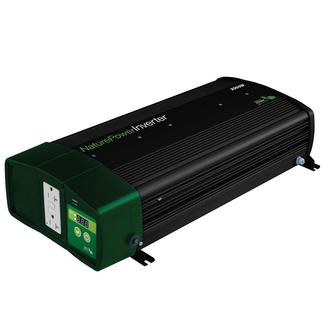 Nature Power Sine Wave Inverter&#x2f&#x3b;Chargers - 2000 Watt with 55 Amp Battery Charger