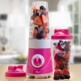 Elite Cuisine Personal Drink Mixer - Pink