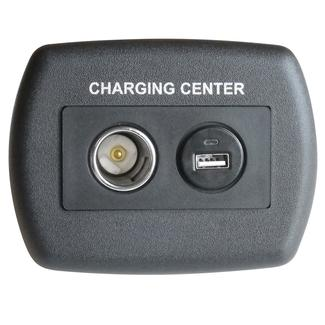 USB 12 Volt Plastic Charger - Black