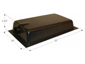 Holding Tank Center End Drain HT620ED, 10 Gallon