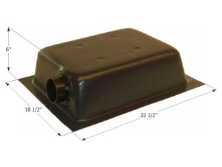 Holding Tank Left End or Bottom Drain HT630ED - Tank, 3