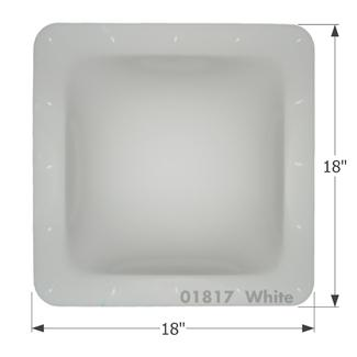 RV Skylight - SL1414W - White