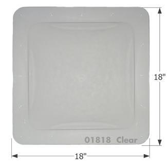 RV Skylight - SL1414C - Clear