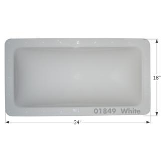 RV Skylight - SL1430W - White