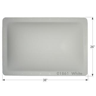 RV Skylight - SL2234W - White