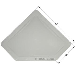 RV Skylight - NSL208C - Clear