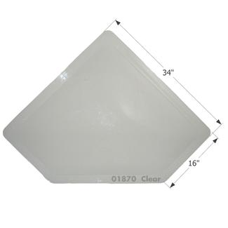 RV Skylight - NSL3013C - Clear