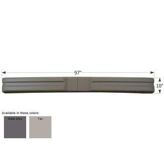 Glendale Titanium Bumper - Tan