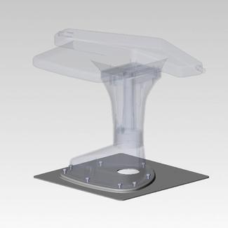 Jack Antenna Mounting Plate