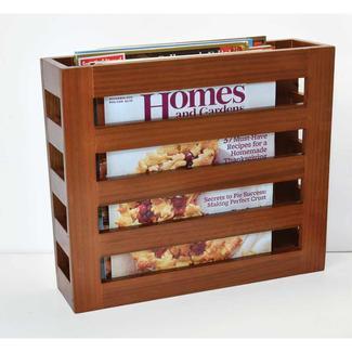 Solid Wood Magazine Racks