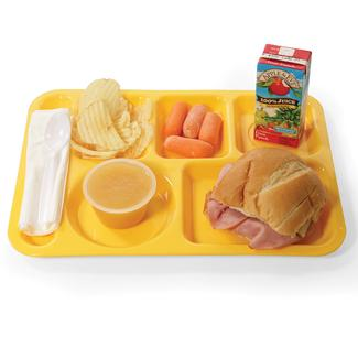Cafeteria Tray - Yellow