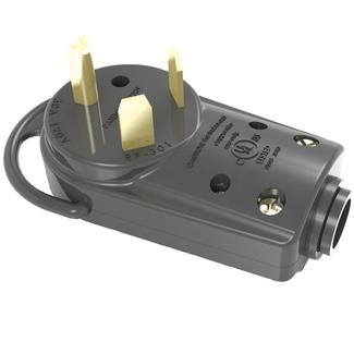 30 Amp RV Male Plug with Pull Handle