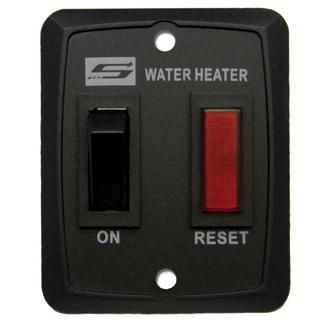 Switch and Light Assembly for Suburban Water Heaters - Black