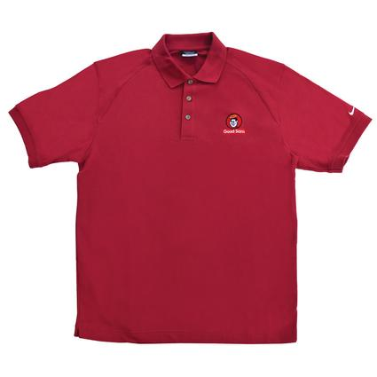 Nike Golf Pique Knit Men's Sport Shirt with Good Sam Logo- Small