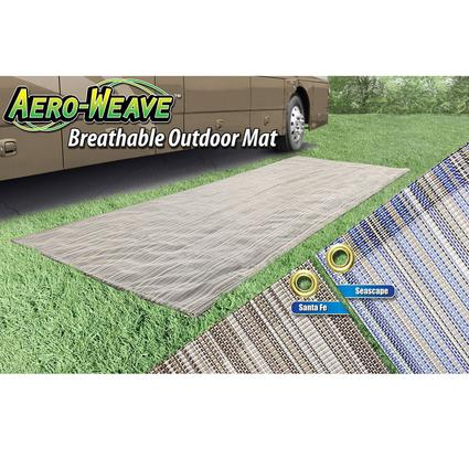 Aeroweave Breathable Outdoor Mat - Santa Fe, 7 1/2' x 20'