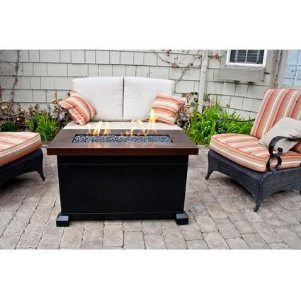Monterey Propane Fire Pit Patio Table