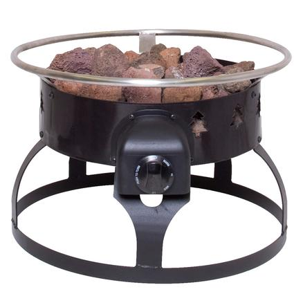 Redwood Portable Propane Fire Pit