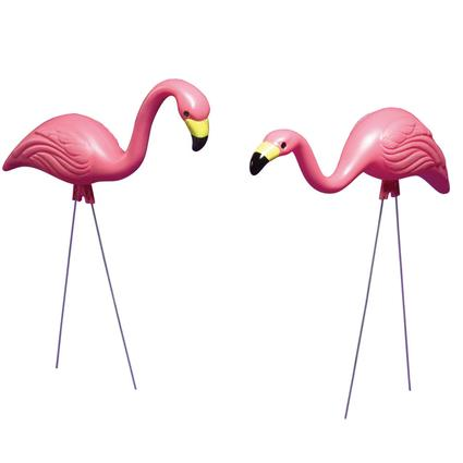 Pink Flamingo Set- 2 Pack