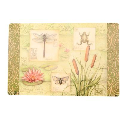 Reversible Placemats- Water Lilly